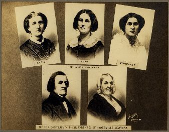 The Fox sisters, who in 1692 convinced people in their small town that they were in cahoots with the dead.