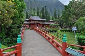 The path to the temple.