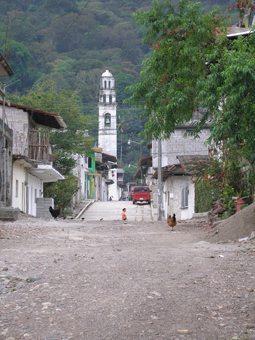 Zapotitlan in Puebla, Mexico.