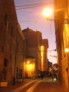The old town of Alghero, Sardinia