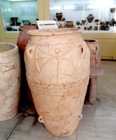 The trip takes in many archeological museums in Crete with expert commentary by Carol Christ.
