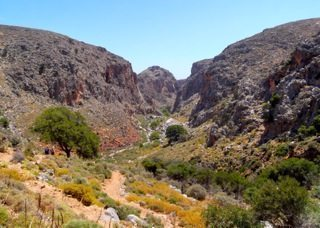 Crete's wild countryside is unspoiled and vast.