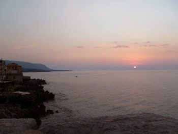Sunset at Cefalu
