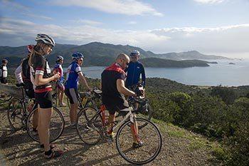 Cycling in Sardinia, Italy
