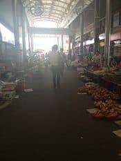 Outdoor Market around the corner from the G Motel in Waegwan