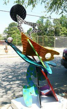 A sculpture by Jonas Gerard