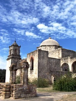 Mission San Jose. photo San Antonio Vistitors Org.