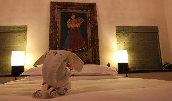 A room at Baghvan Safarisl