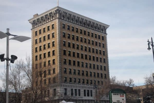 The Royal Bank Union Tower is a symbol of the incredible wealth that made Winnipeg the richest city in Canada during the 1920s.