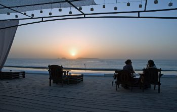 Hotel Sokhamon, on the beach.