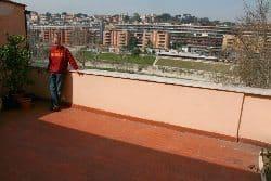 John on the terrace.
