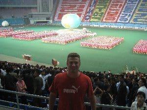 Mass Games Pyongang North Korea