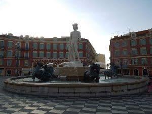 Place Massena in Nice.