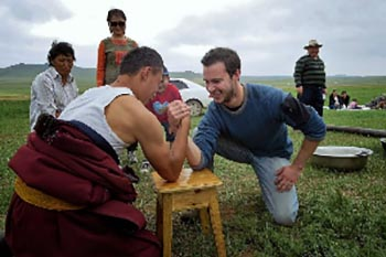 Mongolia: Wrestling and Drinking with Nomads