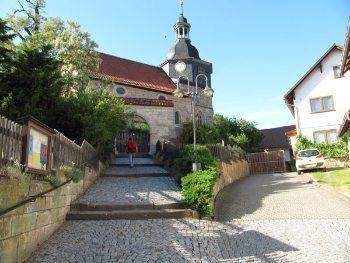 Luther family church in Möhra. Mary Ann Noe photos.