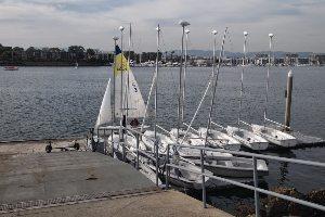Boats at the dock.