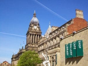 Leeds, England's town hall. Marc Lathan photos.