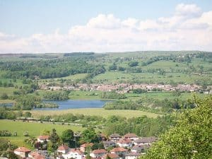 The village of Otley.