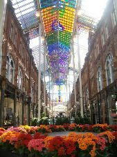 Victoria Quarter, Leeds beautiful indoor shopping plaza.