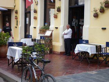 waiter in cafayate
