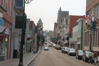 Beverly Street in Staunton