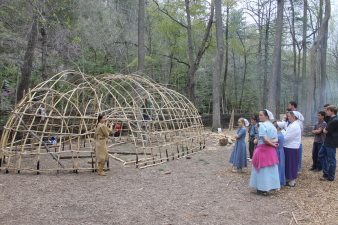The Monacan Living History Village at the Natural Bridge