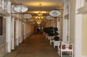 The Homestead is perfect for a wedding or vacation, it even has it's own mini shopping mall!