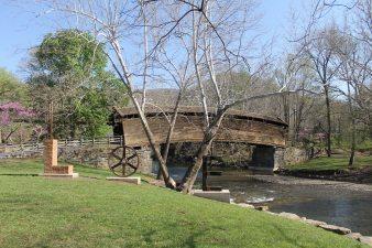 The Humpback Bridge in Covington, VA