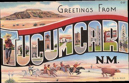 Greetings from Tucumcari