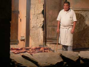Dining in Sardinia: Mountaintop and on a Farm