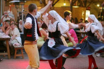 Prague folklore party