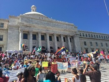 San Juan Protest