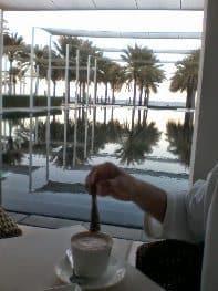 Chedi Hotel Beach restaurant.