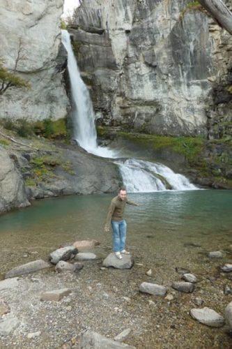 Chorillo de-Salto, Patagonia.