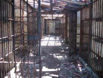 Coiba island's former prison, in Panama. Bigtravelweb.com photo.