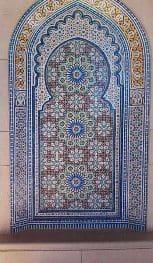 Grand mosque tiles