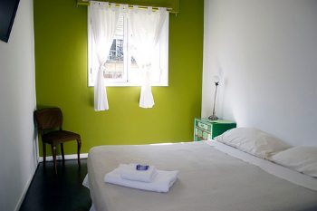 A simple room for only $15 a night!