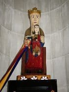 Andorra's Our Lady of Meritxell. Susan McKee photo.