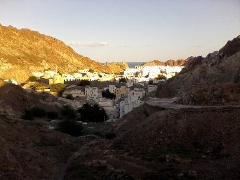 Outskirts of Muscat.