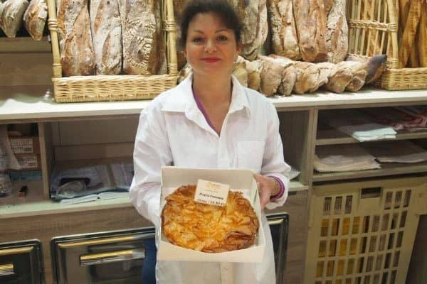Pastis Pommes is a classic southwest France dish that's a Toulouse specialty. Here, the delicacy is shown