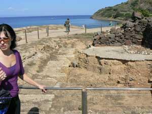 Phoenician/Roman ruins at Nora, near Caligiari, Sardinia.