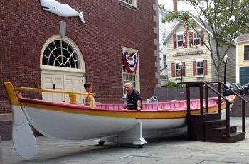 Boat-bonding across generations. Jamie Kimmel photo