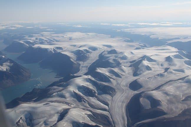 Enjoy an aerial view of Baffin Island. Scott Bradley photo