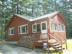 Clucks Cabin in West Ossipee NH