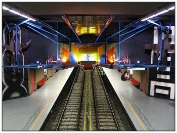 Metro Brussels Bizet