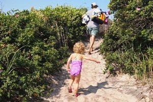 Block Island beach day