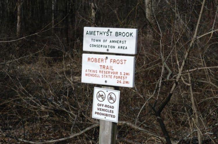 Robert Frost Trail. Ella's Trails photo