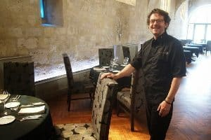 Eric Sampietro, chef/owner at Table des Cordeliers in Condom.