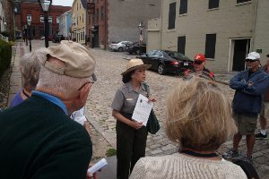National Park Service guide takes a tour of historic New Bedford.