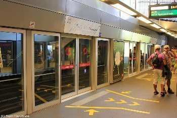 Lausanne, Switzerland's only metro.